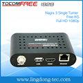 mini receptor de de satelites livres tocomfree i928 receptor digital de satélite