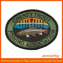 2014 Custom oval embroidered badge
