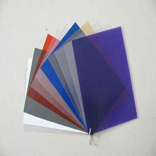 pvc sheets for stationery