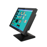 15 inch touch screen monitor with LCD screen