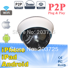 NEO COOLCAM Wireless WiFi dome IP Camera NightVision Infrared Security Surveillance Network Webcam Internet IP Camera
