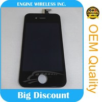 Big discount mobile phone parts for iphone 4 lcd screen,china wholesale