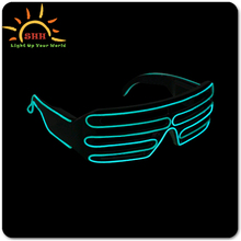 new products 2016 El Wire Led Flashing Sunglasses, Novelty Sunglasses, Sunglasses For Party