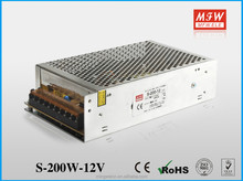 200w 12v scr dimmer led power supply in alibaba with 2 years warranty