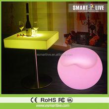 Glowing LED illuminated led furniture with lights