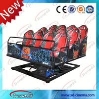Racing car seats competitive quality 5D theater manufacturer in 2014/Hot sale 5d cinema/5d Theater Rider in a Trailer New!