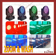 36 10W LED Wash led moving head DJ equipment light fixture moving light