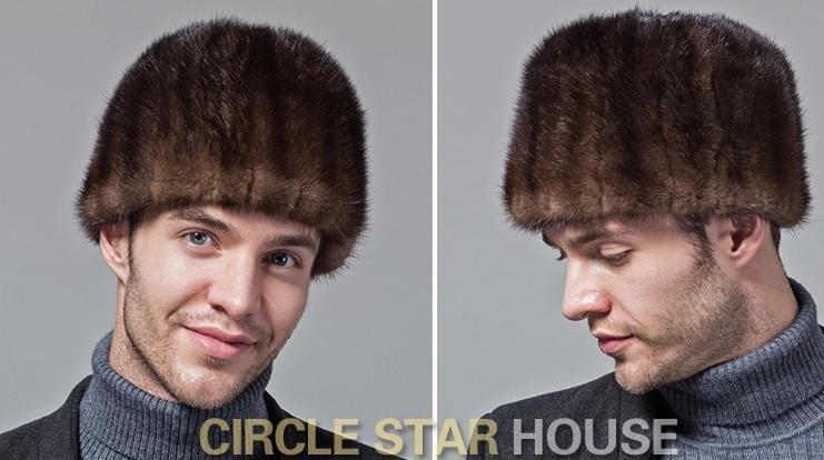 Мужская круглая шапочка без полей FL PCM166 R1P