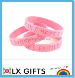 Custom bulk cheap silicone wristband / silicone bracelet