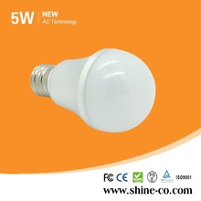 Led High Luminance 5W B60 E27 Bulb Led, Lighting Led