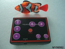 NEW radio remote control 3CH mini water fish swimming robot fish toys