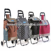 Easy shopper foldable trolley shopping bag