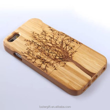 Custom case for iPhone wood bamboo design phone case