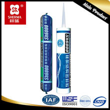 roof sealant for adhesion of plastic, glass, metal and concrete