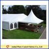 UV fire retardant stretch tent fabric