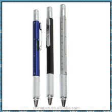 High quality multifunction ball pen and pencil/4 color ball pen with pencil
