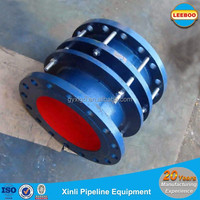Ductile iron flanged restrained tensile dismantling joint pipe fittings