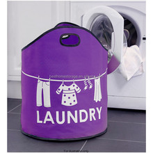 2015 new design oxford folding laundry bag