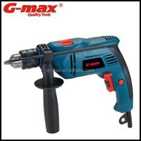 G-max Power Tools Impact Drill 710W 13mm Hand Drill Motors GT12270