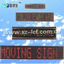 numbers display function and indoor usage digital message led display