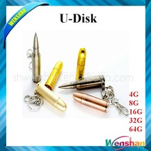 New disign metal bullet usb flash drive usb flash disk with factory direct pricing