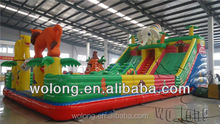 2015 commercial inflatable water slide , inflatable jumping castle play field on sale !!!