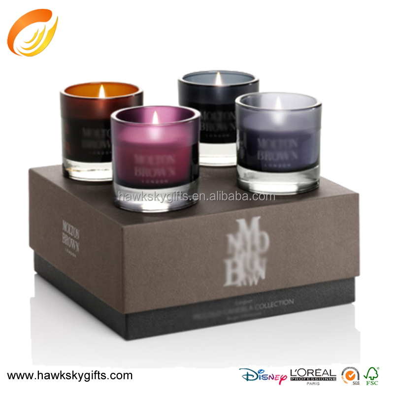 Wholesale Recyclable Paper Candle Packaging Supplies