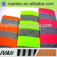 2014 Fashion new design soft knitting jersey striped 100% cotton fabric
