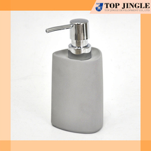 Simple looking gray concrete nature stone soap foam dispenser