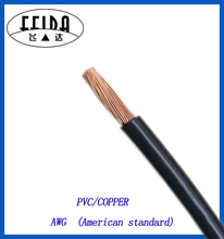 22AWG PVC insulated single core electric wire