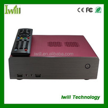 China media player MPC-HT70 mini itx aluminum case wholesale