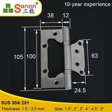 Multifunctional Hinge for Door and Cabinet