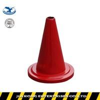 Lower Factoty Price 24cm Soft Flexible Rubber plastic traffic cone
