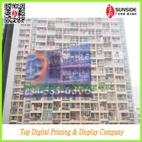 transparent plastic sticker sheet / static ling sticker
