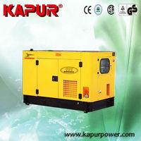 KAPUR 15KW yanmar used generator mechanical technical specification for groupe electrogene
