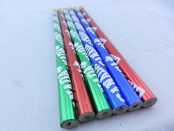 HB lead double eraser pencil, logo available