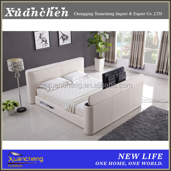 Bed With Tv In Footboard Tv Bed Bed Tv Lift Xc Bgly 8519