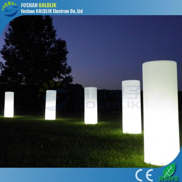 고품질의 주도 야외 정원 플라스틱 기둥 조명을-LED 전기 스탠드 ...