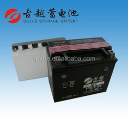 Supply 12V 10Ah Dry Charged Motorcycle Battery from China