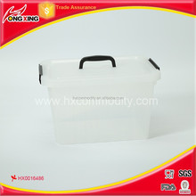 12L PP material plastic storage container/box set for gift