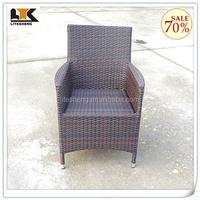Classic Modern Cheap Outdoor Garden PE Rattan Dining Chair