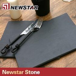 High Quality Natural Slate Dark Black Cheese Board