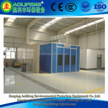 Baking and Painting Booth for Heavy Industry