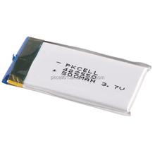 3.7v 500 mAh 422550 ai polimeri di litio ricaricabile li-ion batteria con pcm e filo batteria lipo