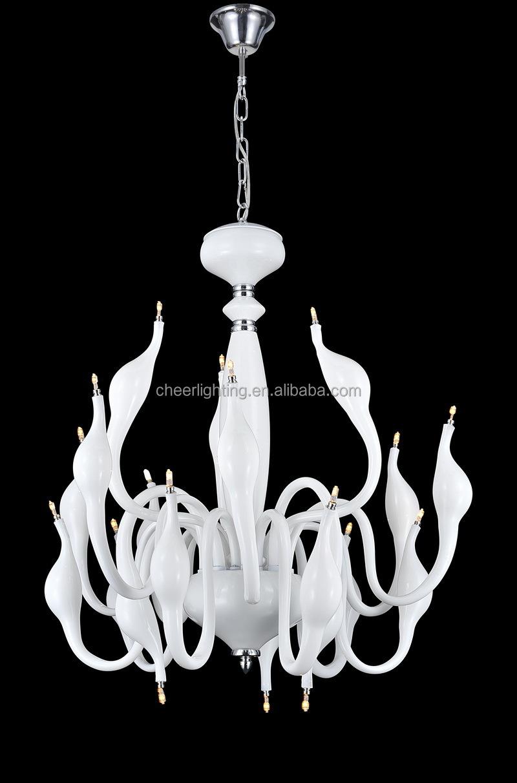 moderno lampadario cigno cigno tavolo lampada cigno lampada da ...