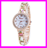 Wholesale fashion woman geneva wrist watch price