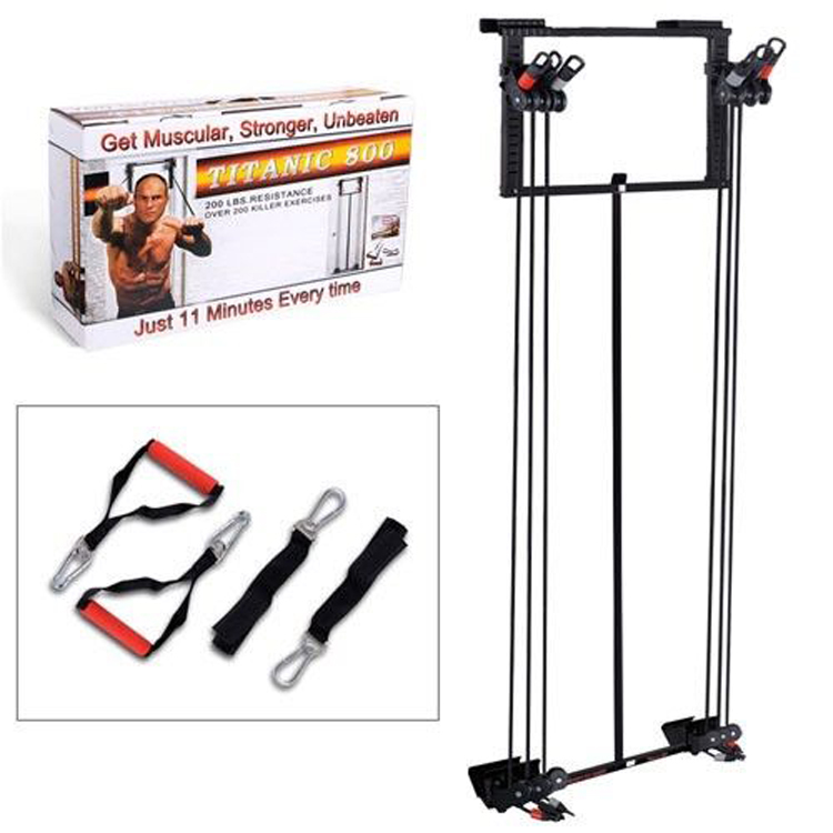 Easy Home Exercise Equipment: Easy Used Cheap Portable Foldable Home Gym Door Fitness