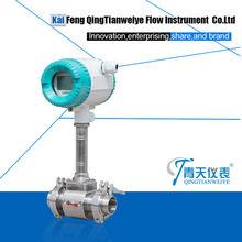 mechanical flow totalizer vortex flow meter