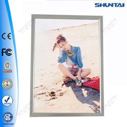 China exported photo slim led advertising aluminum light frames