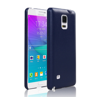 LZB hot selling PU leather slim back Skin cover phone case for samsung galaxy note 4
